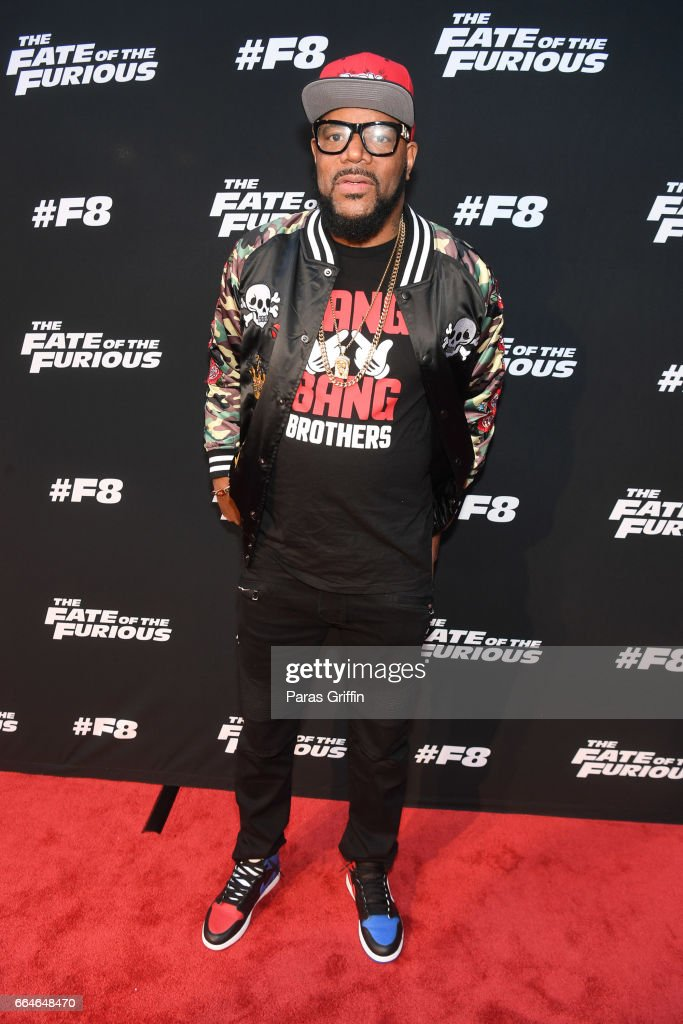 THE FATE OF THE FURIOUS Atlanta Red Carpet Screening and After Party Hosted by Ludacris : News Photo