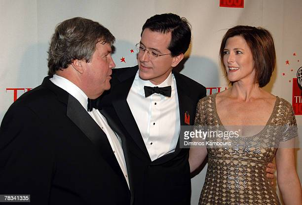 Ed McCarrick Stephen Colbert and Evie McGee Colbert