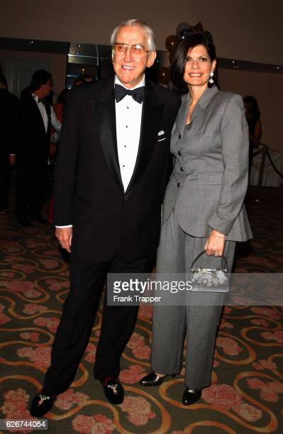 Ed McMahon and his wife Pam Hurn at The Hollywood Gala Salute to Milton Berle
