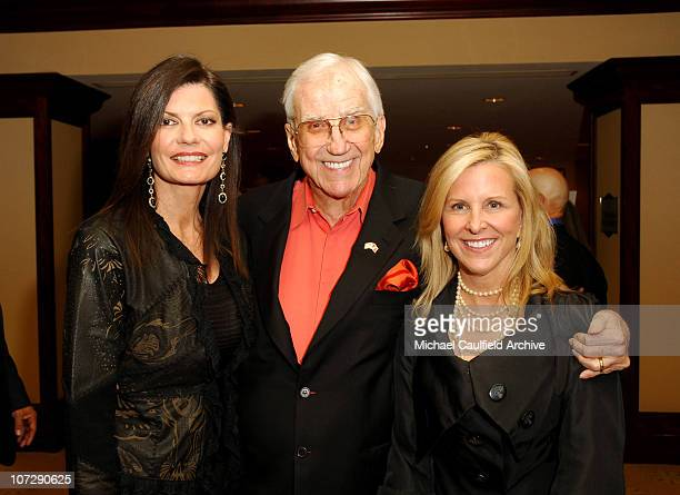 Ed McMahon and Pam Hurn during 12th Annual Race to Erase MS CoChaired by Tommy Hilfiger and Nancy Davis Red Carpet at The Westin Century Plaza Hotel...