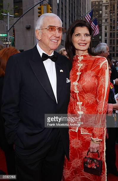 Ed McMahon and wife Pam arrive for the NBC 75th Anniversary celebration taking place live in Studio 8H in Rockefeller Center in New York City May 5...