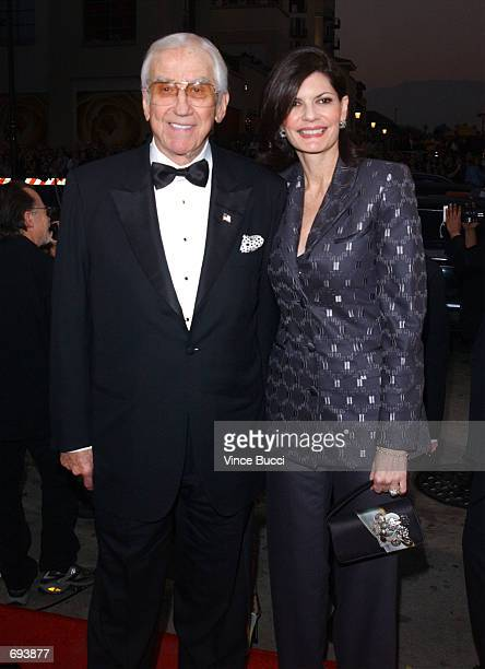 Ed McMahon and wife Pam attend the 28th Annual Peoples Choice Awards at the Pasadena Civic Center January 13 2002 in Pasadena CA