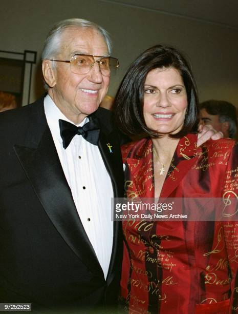 Ed McMahon and wife Pam Hurn are on hand at the New York Marriott Marquis on Broadway for a fundraiser benefiting the Toys R Us Children's Fund