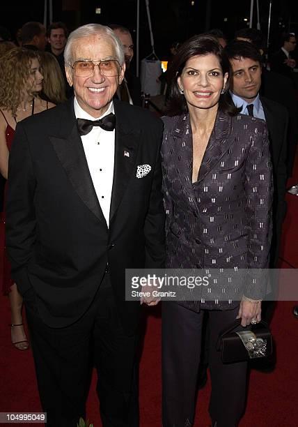 Ed McMahon wife Pam Hurn arrive at the 28th Annual People's Choice Awards at the Pasadena Civic Auditorium in Pasadena California