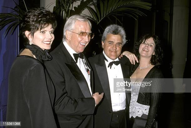 Ed McMahon with his wife Pam Jay Leno with his wife Mavis Leno