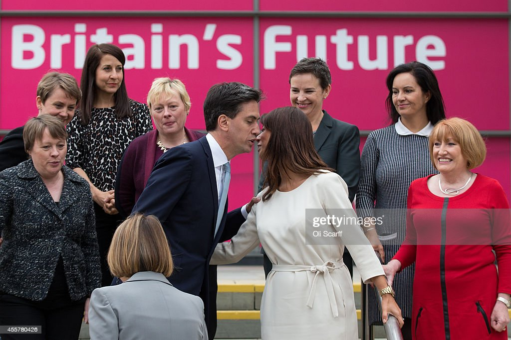 Ed Miliband Arrives At The Annual Labour Party Conference : News Photo