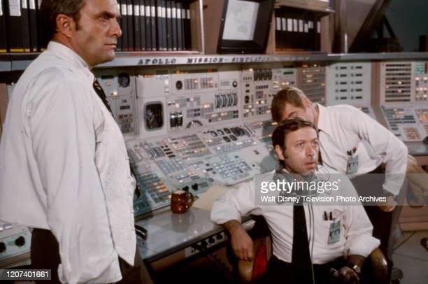 Ed Nelson Steve Franken appearing in the ABC tv movie 'Houston We've Got a Problem'