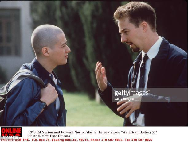 Ed Norton And Edward Furlong Stars In The New Movie 'American History X' LL