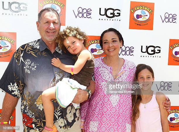 Ed O'Neill and family at The 4th Annual Kidstock Music And Arts Festival held at Greystone Mansion on June 6 2010 in Beverly Hills California