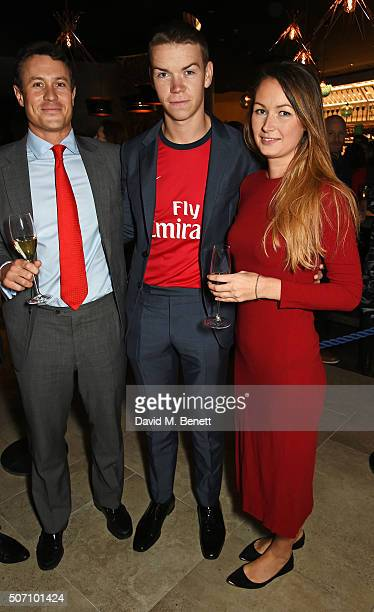 Ed Poulter Will Poulter and Jo Poulter attend the launch of M Victoria Street in aid of Terrence Higgins Trust on January 27 2016 in London England