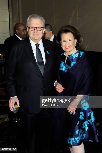 Ed Rappa and Hildegarde 'Hillie' Mahoney attend The Boys' Club of New York Annual Awards Dinner at Mandarin Oriental on May 17 2017 in New York City