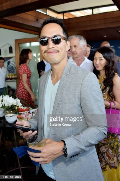 Ed Rhee attends Breguet Marine Collection Launch at Little Beach House Malibu on July 11 2019 in Malibu California