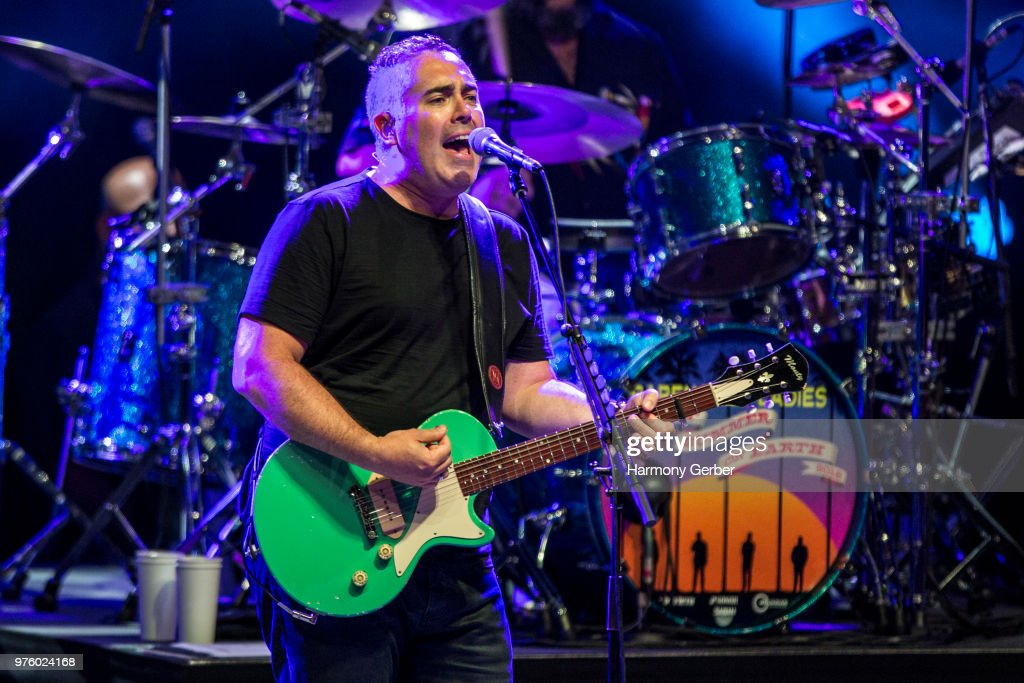 Ed Robertson of the band Barenaked Ladies performs at The Greek Theatre on June 15, 2018 in Los Angeles, California.