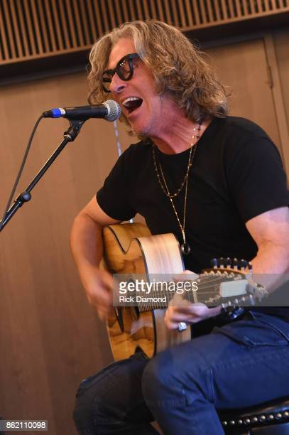 Ed Roland of Collective Soul performs onstage at the Corporate 360 Special Session for Corporate Buyers panel during the IEBA 2017 Conference on...
