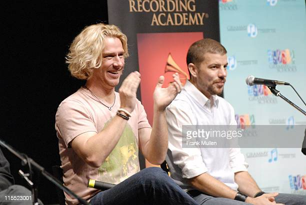 Ed Roland Will Turpin during Grammy Career Day With Collective Soul May 10 2006 in Atlanta Georgia United States