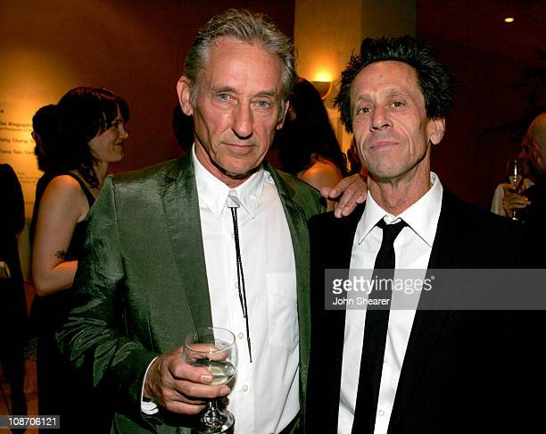Ed Ruscha and Brian Grazer during 3rd Annual Hammer Museum Gala in the Garden Celebrates the Achievements of L.A. Artist Ed Ruscha at Hammer Museum...