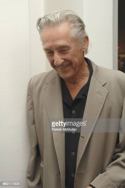 Ed Ruscha attends SHE Images of women by Wallace Berman and Richard Prince Opening at Michael Kohn Gallery on January 15 2009 in Beverley Hills...