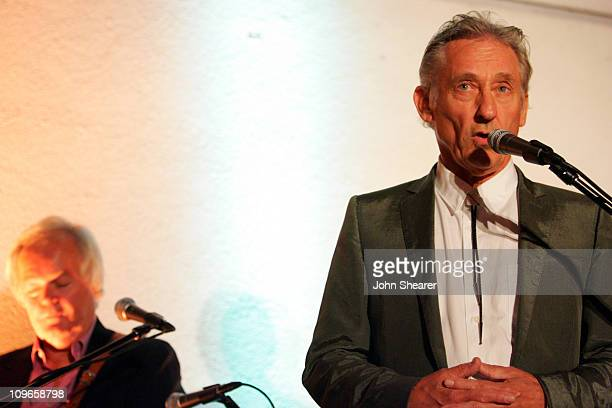 Ed Ruscha during 3rd Annual Hammer Museum Gala in the Garden Celebrates the Achievements of L.A. Artist Ed Ruscha at Hammer Museum in Westwood,...