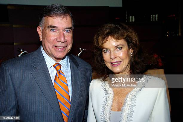 Ed Sayres and Margo Langenberg attend ASPCA Annouces Winners of 2007 Humane Awards at Rainbow Room on November 1 2007 in New York City