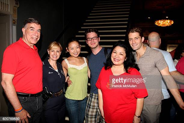 Ed Sayres Anne Marie Lucas Li Jun Li Nick Mayo Loretta Ables Sayre and Matthew Morrison attend A PAWPULAR StarStudded Dog and Cat AdoptAThon BROADWAY...
