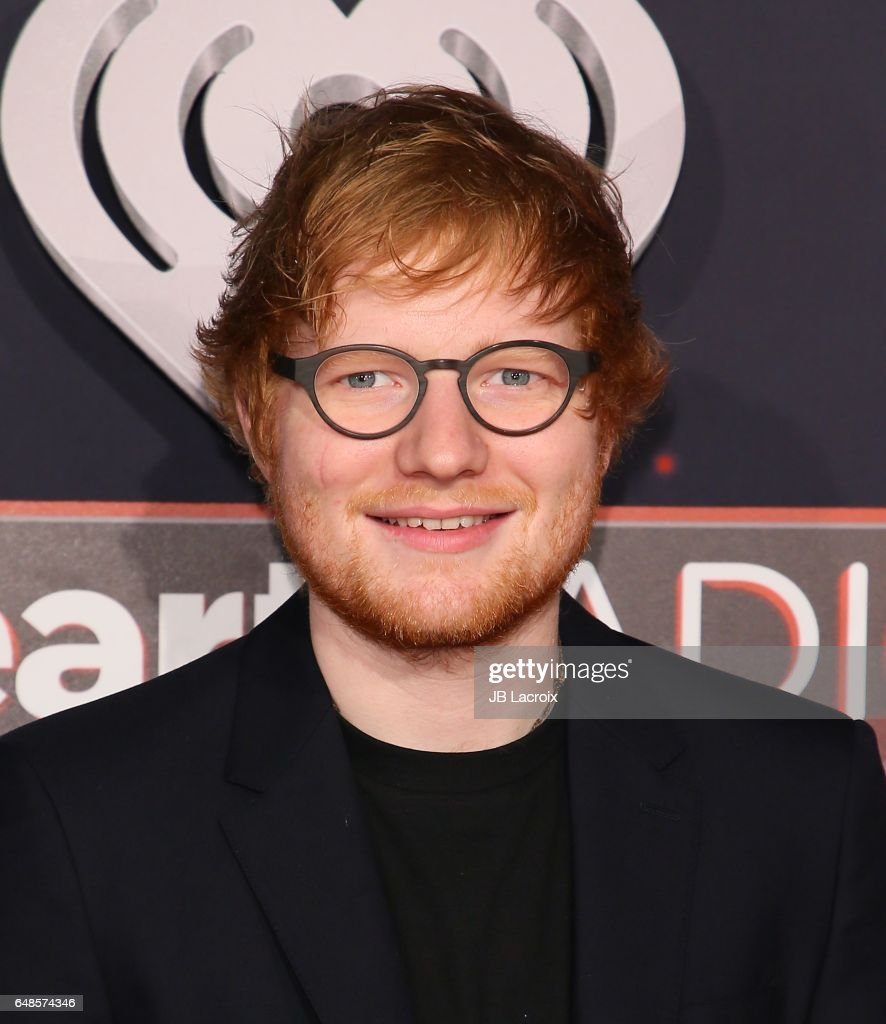 Ed Sheeran attends the 2017 iHeartRadio Music Awards at The Forum on March 5, 2017 in Inglewood, California.