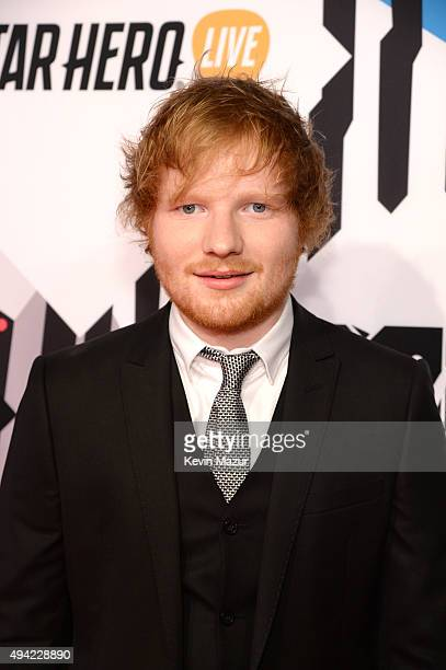 Ed Sheeran attends the MTV EMA's 2015 at Mediolanum Forum on October 25 2015 in Milan Italy