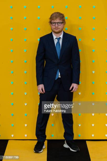 Ed Sheeran attends the UK film premiere of 'Yesterday' at the Odeon Luxe Leicester Square on 18 June 2019 in London England