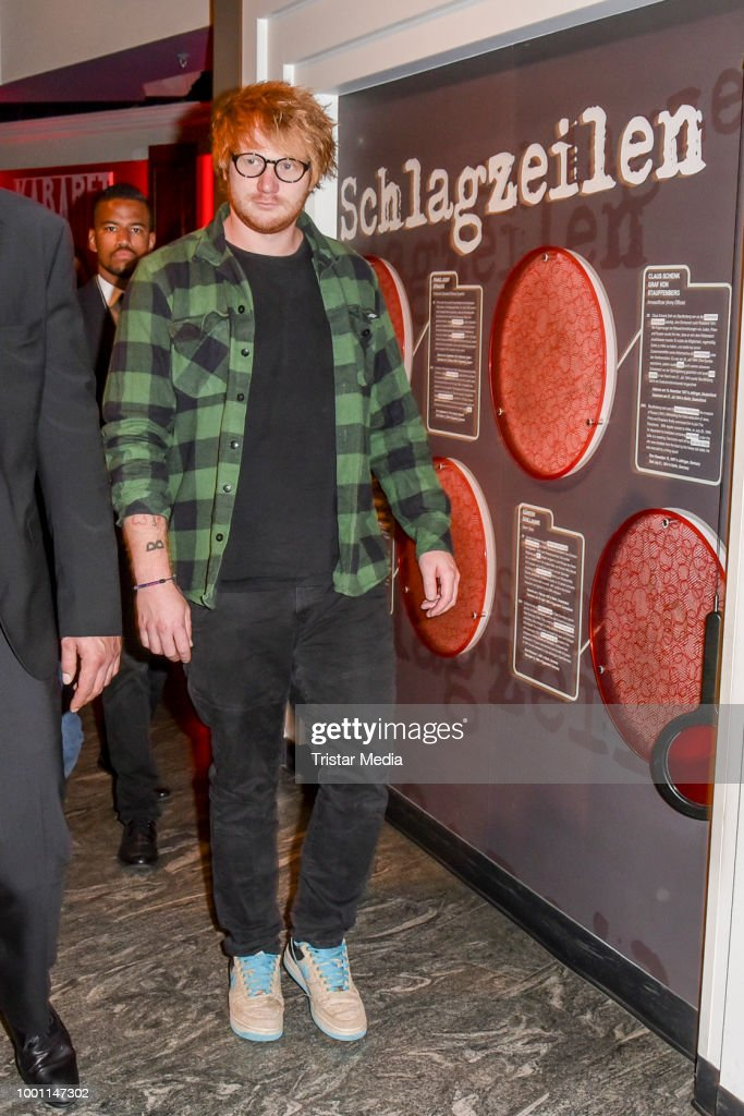 Ed Sheeran Wax Figure Unveiled At Madame Tussauds Berlin