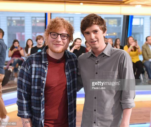 AMERICA Ed Sheeran is a guest on 'Good Morning America' Monday September 25 airing on the ABC Television Network