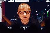 london england ed sheeran is seen