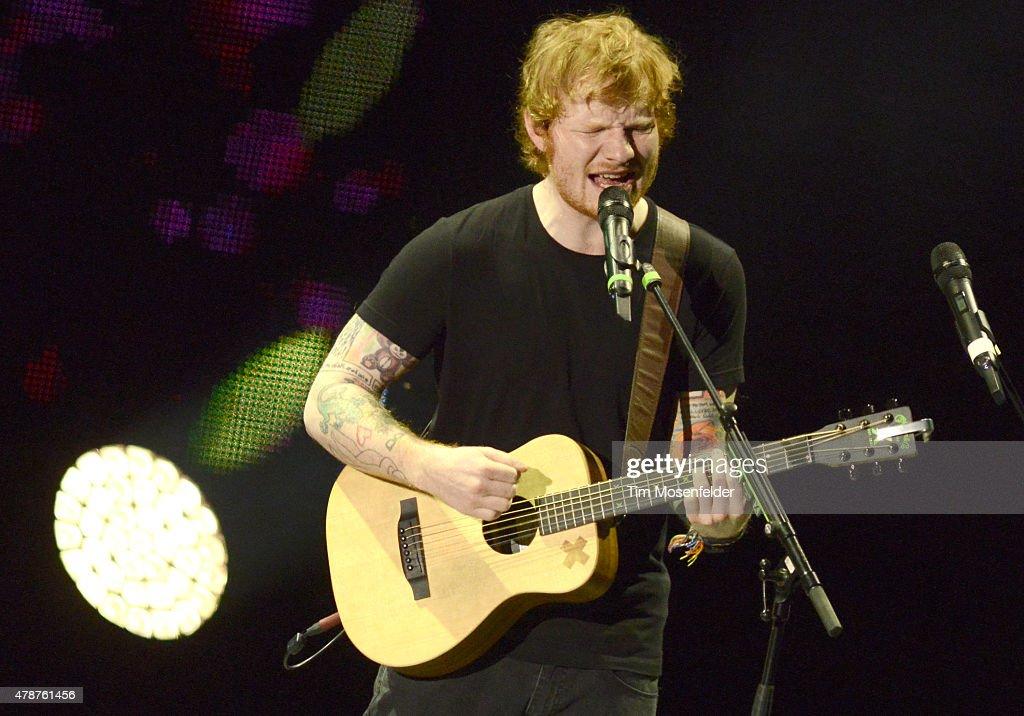 Ed Sheeran In Concert - Berkeley, CA : News Photo