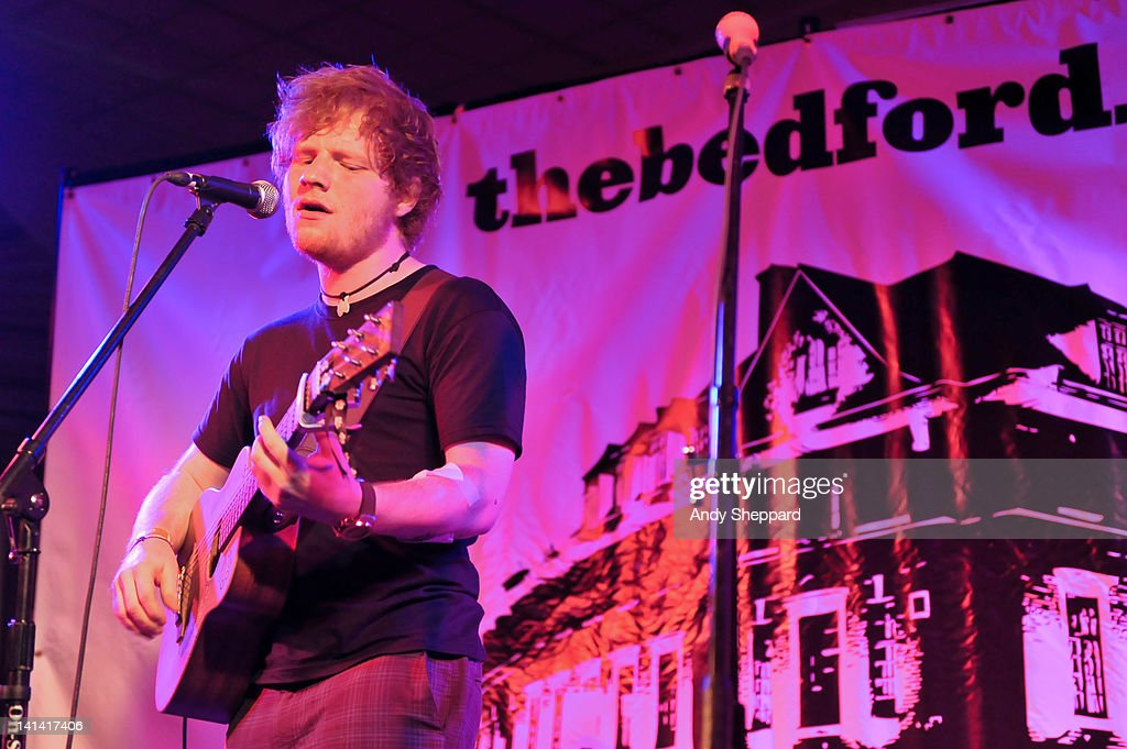 Ed Sheeran performs on stage at The Bedford Showcase in The Hilton Creekside during SXSW 2012 Music Festival on March 15, 2012 in Austin, United States.