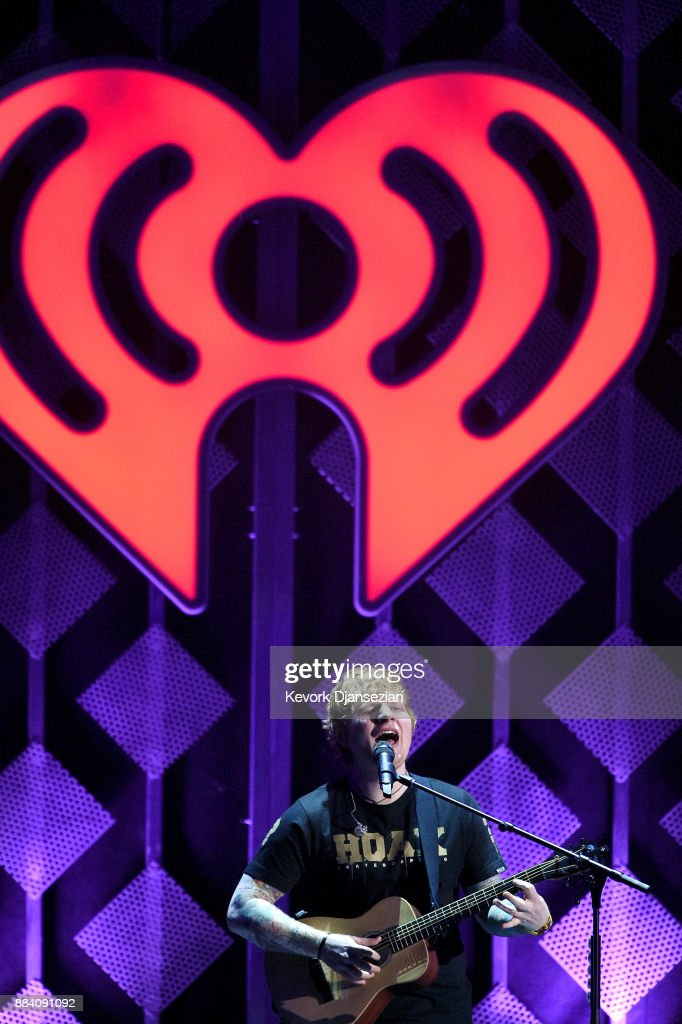 Ed Sheeran performs onstage during 102.7 KIIS FM's Jingle Ball 2017 presented by Capital One at The Forum on December 1, 2017 in Inglewood, California.