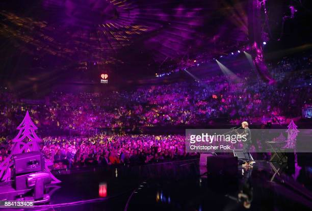 Ed Sheeran performs onstage during 1027 KIIS FM's Jingle Ball 2017 presented by Capital One at The Forum on December 1 2017 in Inglewood California