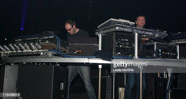 Ed Simons and Tom Rowlands of the Chemical Brothers