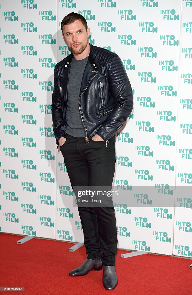 Ed Skrein arrives for the 2016 Into Film Awards at Odeon Leicester Square on March 15, 2016 in London, England.