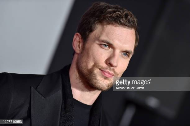 Ed Skrein attends the premiere of 20th Century Fox's 'Alita Battle Angel' at Westwood Regency Theater on February 05 2019 in Los Angeles California