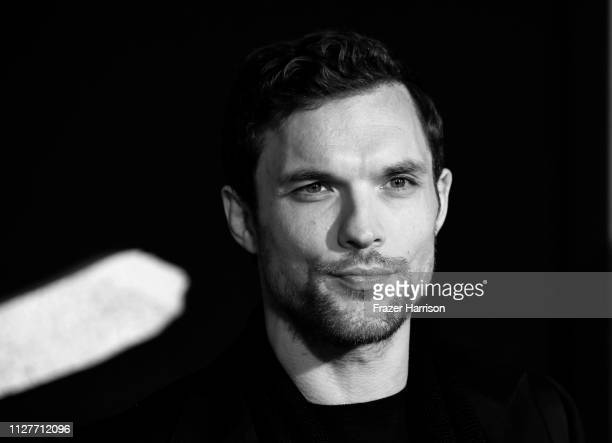 Ed Skrein attends the Premiere Of 20th Century Fox's Alita Battle Angel at Westwood Regency Theater on February 05 2019 in Los Angeles California