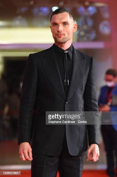 """Ed Skrein attends the red carpet of the movie """"Mona Lisa And The Blood Moon"""" during the 78th Venice International Film Festival on September 05, 2021..."""