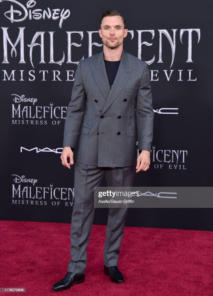 Ed Skrein Attends The World Premiere Of Disney S Maleficent