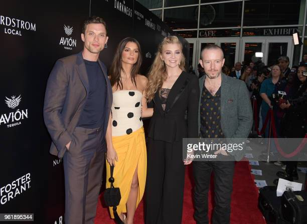 Ed Skrein Emily Ratajkowski Natalie Dormer and Anthony Byrne attend the premiere of Vertical Entertainment's In Darkness at ArcLight Hollywood on May...