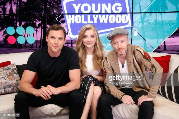 Ed Skrein Natalie Dormer Anthony Byrne at the Young Hollywood Studio on May 23 2018 in Los Angeles California