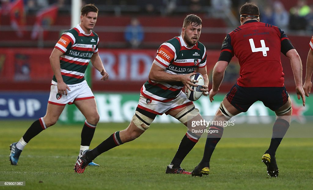 Munster Rugby v Leicester Tigers - European Rugby Champions Cup : Nachrichtenfoto