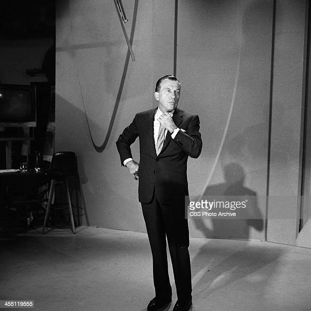 Ed Sullivan on the show in which The Beatles played their final performance on THE ED SULLIVAN SHOW. Image dated August 14, 1965.