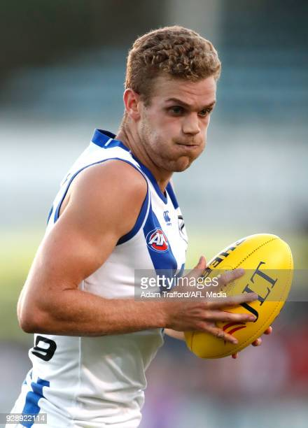 Ed VickersWillis of the Kangaroos in action during the AFL 2018 JLT Community Series match between the Richmond Tigers and the North Melbourne...