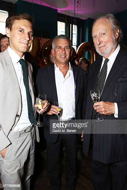 Ed Victor and guests attend The Groucho Club's 30th Anniversary book launch The memoir celebrates 30 years of the original private members club in...