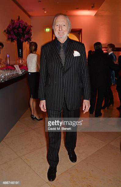 Ed Victor attends a private view of Bailey's Stardust a exhibition of images by David Bailey supported by Hugo Boss at the National Portrait Gallery...