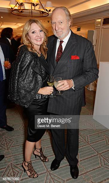 Ed Victor attends Fortnum Mason's Diamond Jubilee Tea Salon for the launch of Tom Parker Bowles' new book 'Let's Eat Meat' at Fortnum Mason on...
