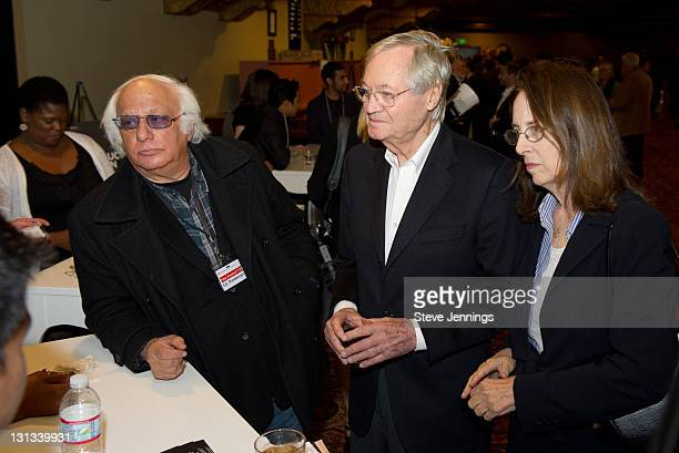 Ed Weinberger Roger Corman and Julie Corman attend the Academy of Art University 5th Annual Epidemic Film Festival at Golden Gate Theatre on May 6...