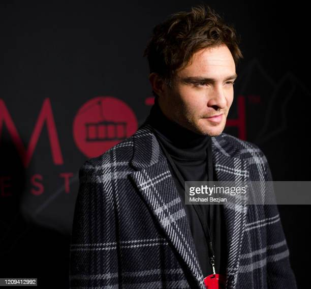 Ed Westwick arrives at the 3rd Annual Mammoth Film Festival Red Carpet Friday on February 28 2020 in Mammoth Lakes California